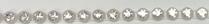 26pp-ss13 Crystal/Clear Bkg, 1 yard Rhinestone Banding