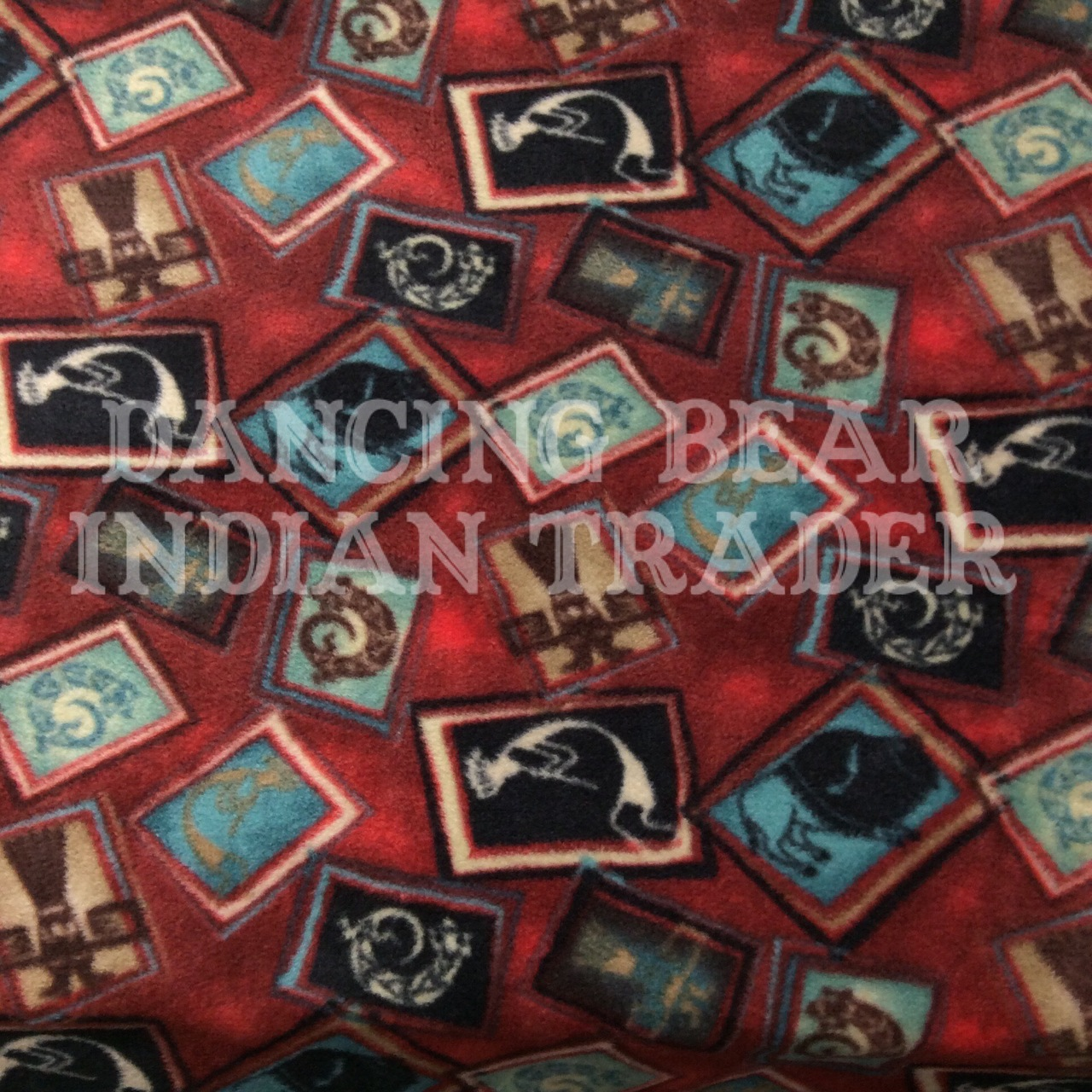 Throw Blanket Red Tossed Native Images