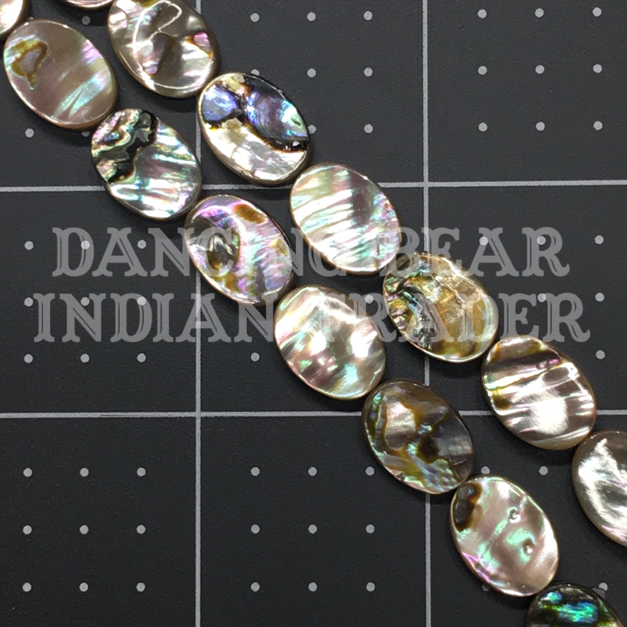 Abalone Oval 10x15mm Strand -Sold Out