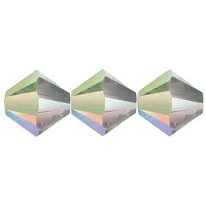 5328-03-CPS-48 3mm Swarovski Bicone Crystal Paradise Shine 48pcs