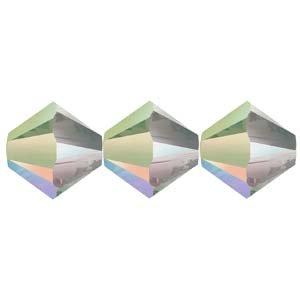 5328-04-CPS-48 4mm Swarovski Bicone Crystal Paradise Shine 48pcs