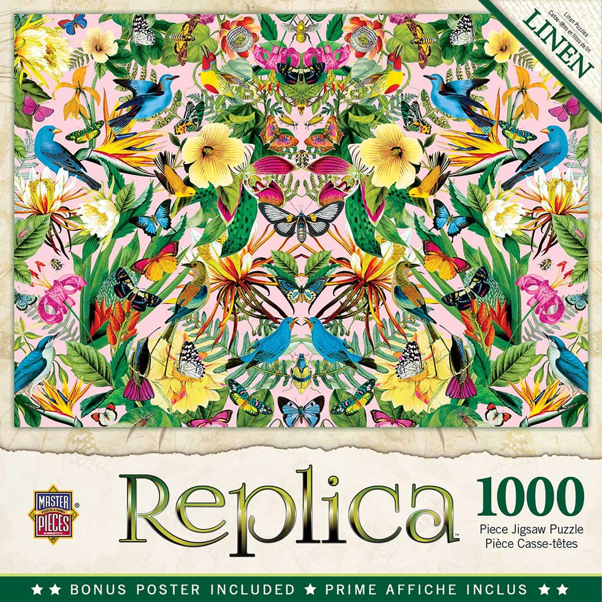 Puzzle Blue Birds 1000pc