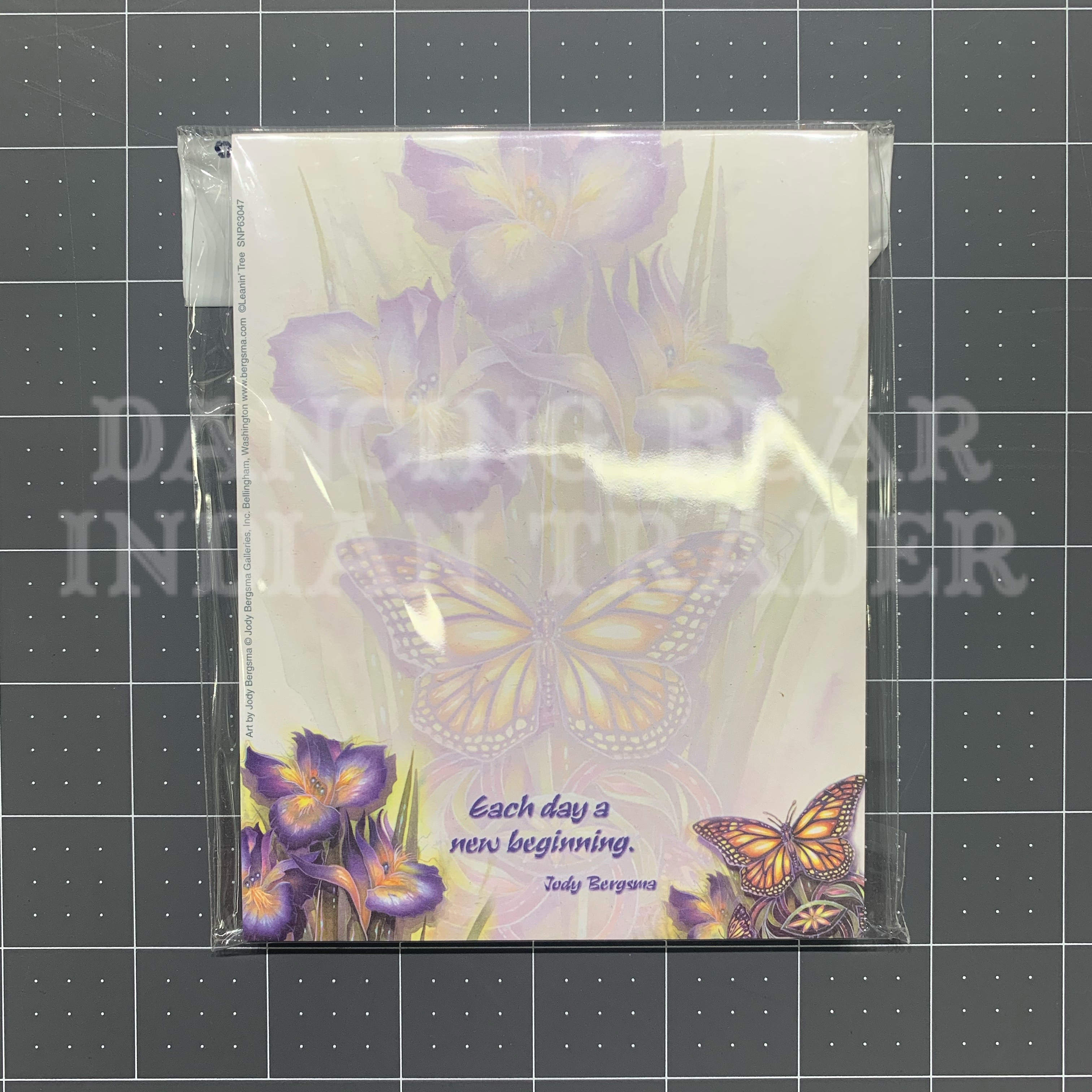 Notepad Small Butterfly