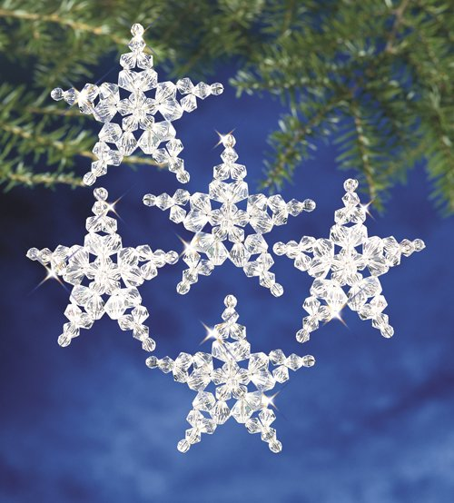 Christmas Ornament Kit 7130- Star Snowflake