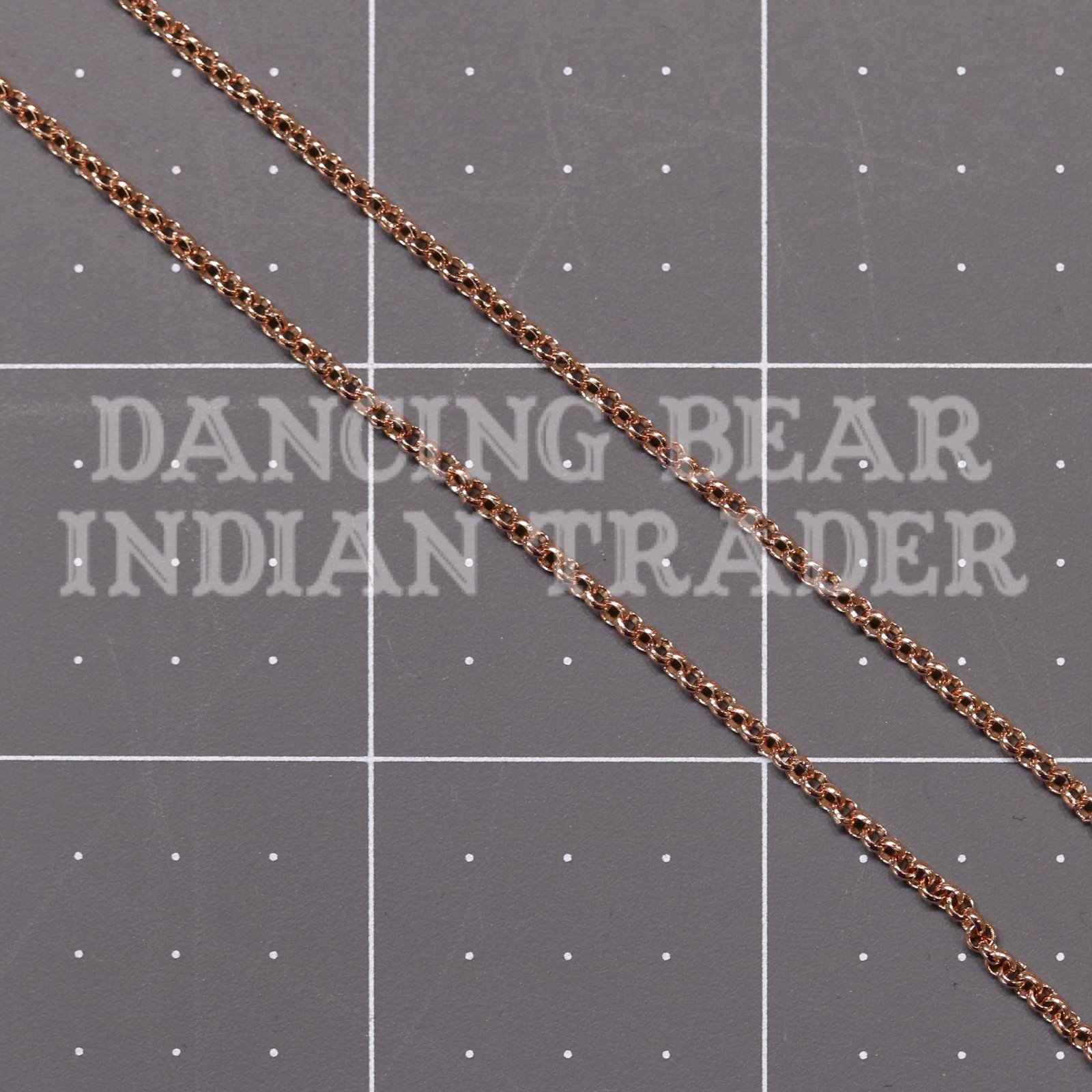 CH30RG Chain Rose Gold 1 ft