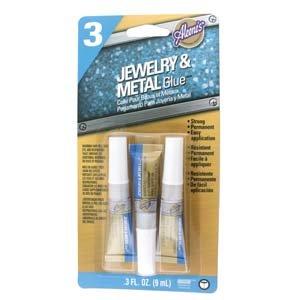 Jewelry & Metal Glue 3pk
