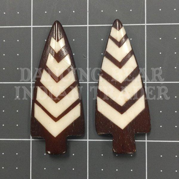 Arrowhead Striped Brown Bone