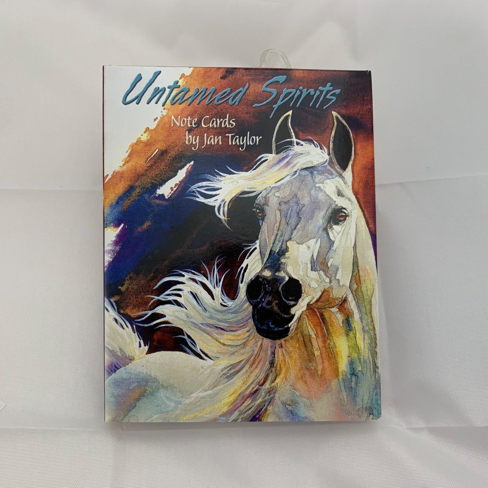 Untamed Spirits Note Cards