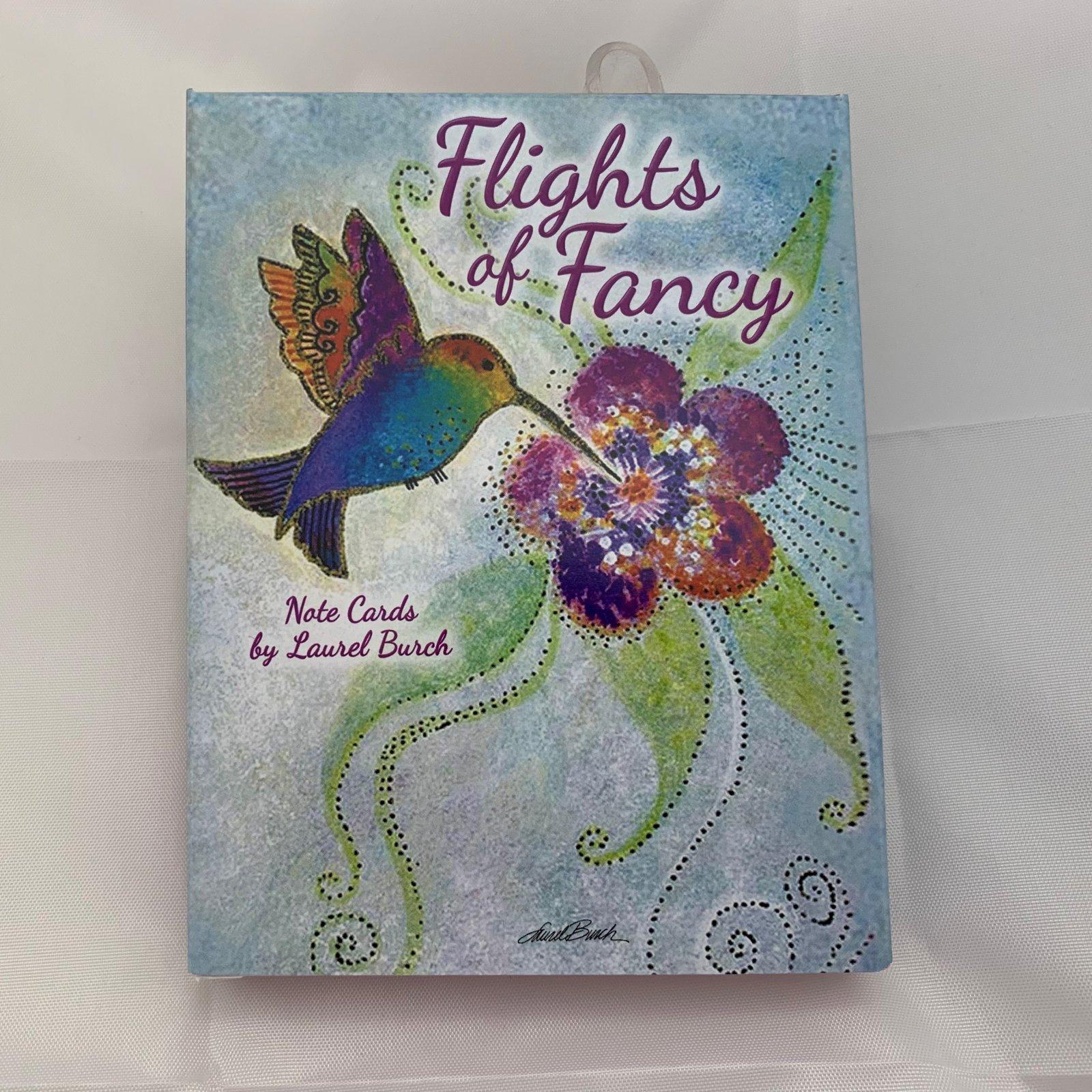 Flights of Fancy Note Cards assorted 12 cards & envelopes