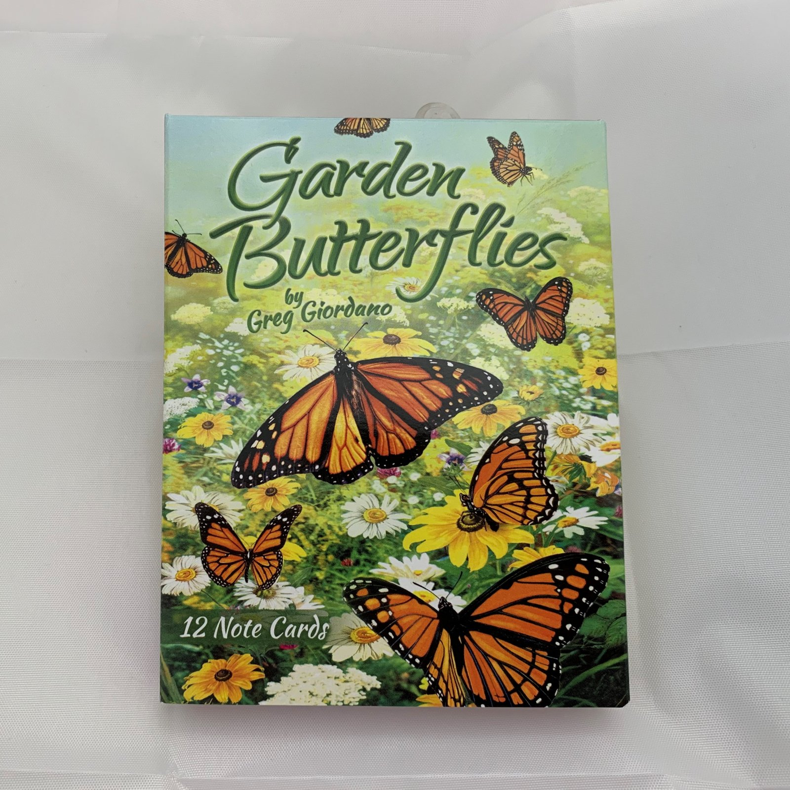 Garden Butterflies Note Cards assorted 12 cards & envelopes - Almost gone,