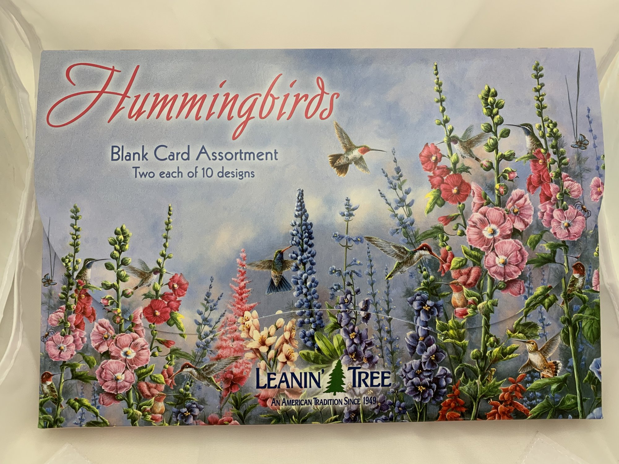 Hummingbirds Blank Greeting Card Assortment