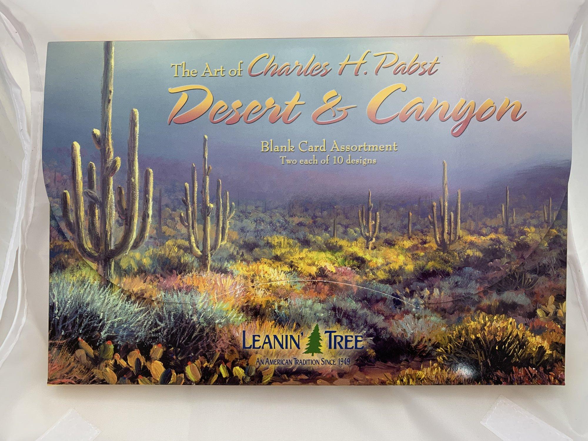 Desert & Canyon Blank Card Assortment