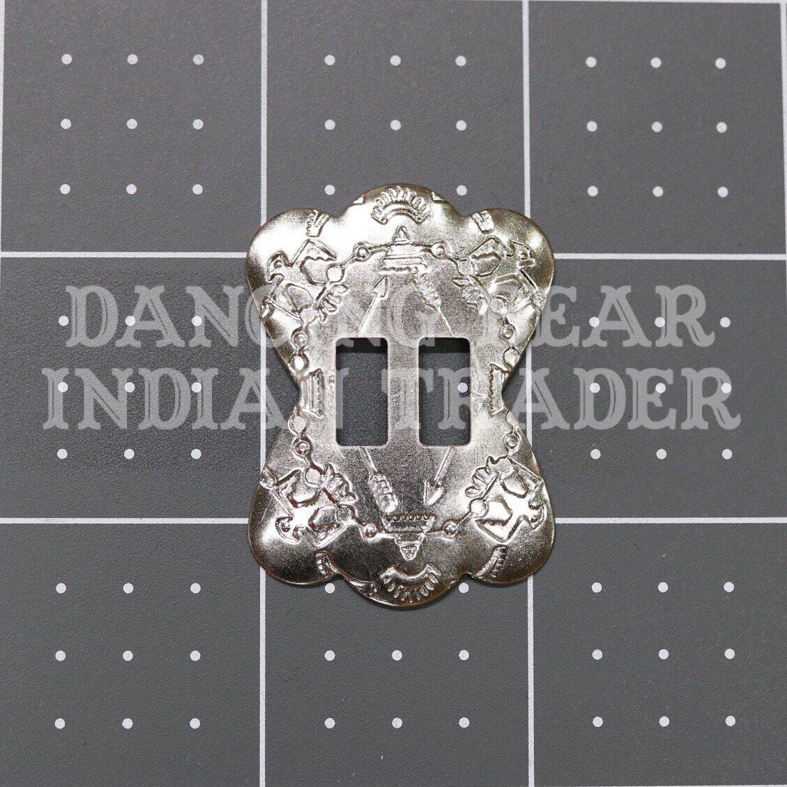 Concho Shield Nickel, 6pc