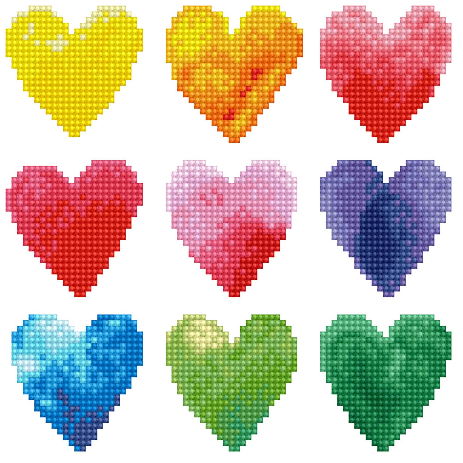 Diamond Dotz Kit Love Rainbow 12.2 X 12.2