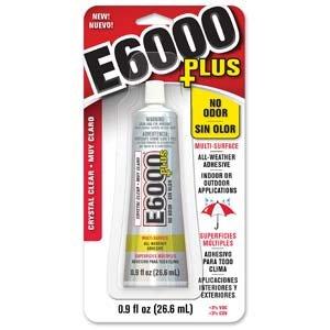 E6000 Plus 0.9oz No Odor!