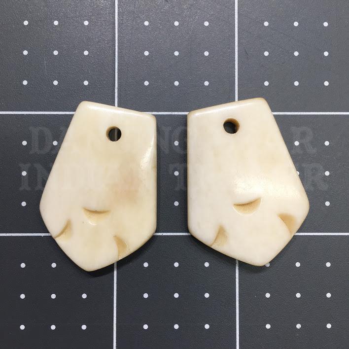 Elk Teeth Hand-Carved