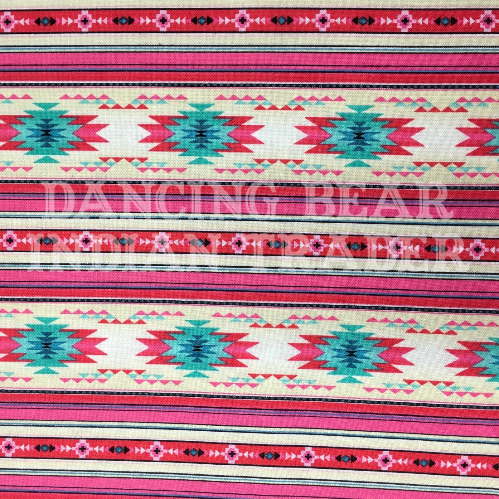 Native Pattern Long Stripe Soft Pink -NEW!