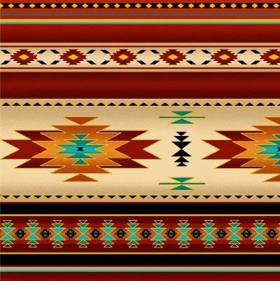 Native Pattern Metallic Stripe Terra -Back in stock August/September 2020