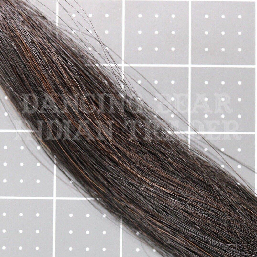 Horsehair 1/2 oz hank Natural Black