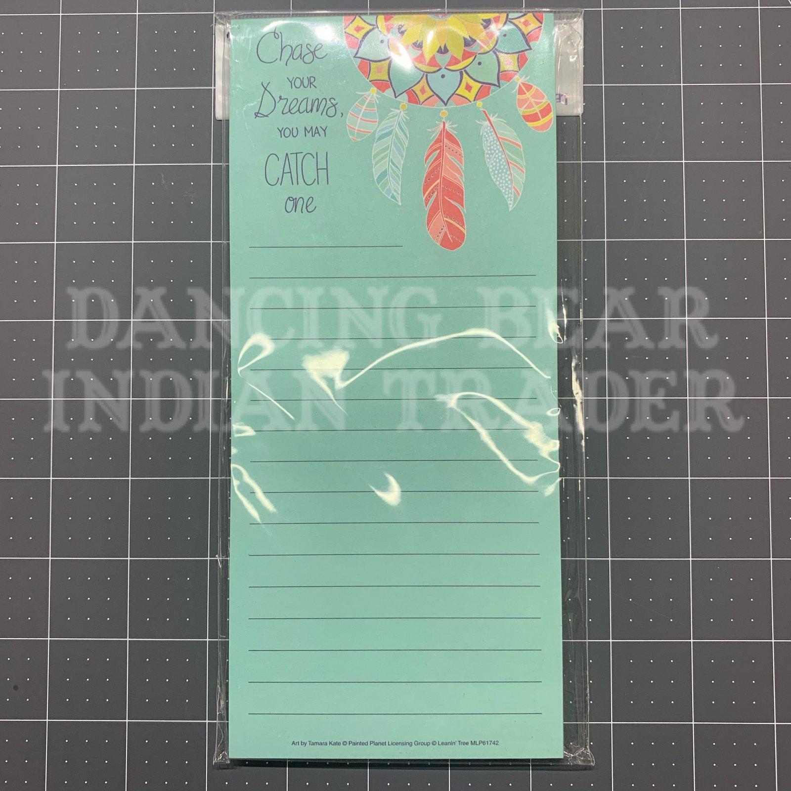 Magnetic List Pad Dreamcatcher