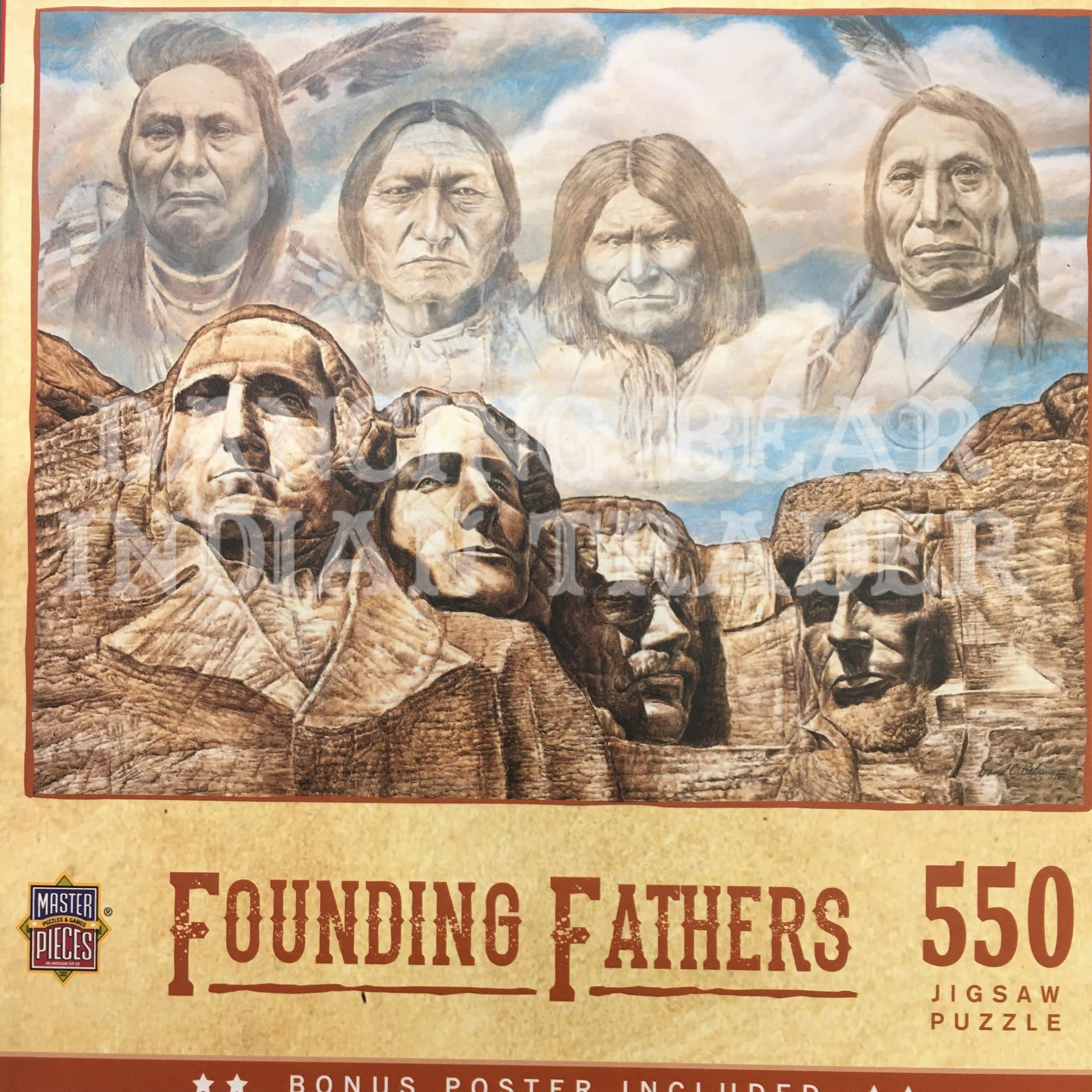 Puzzle Founding Fathers 550pc