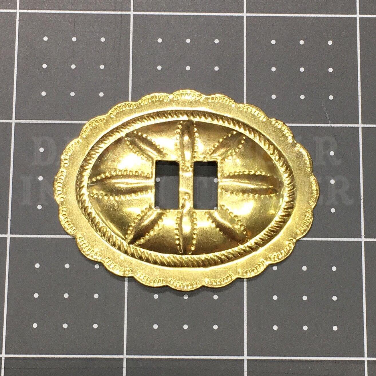 Concho Oval Sun 2 3/8x 1 7/8, 4pc