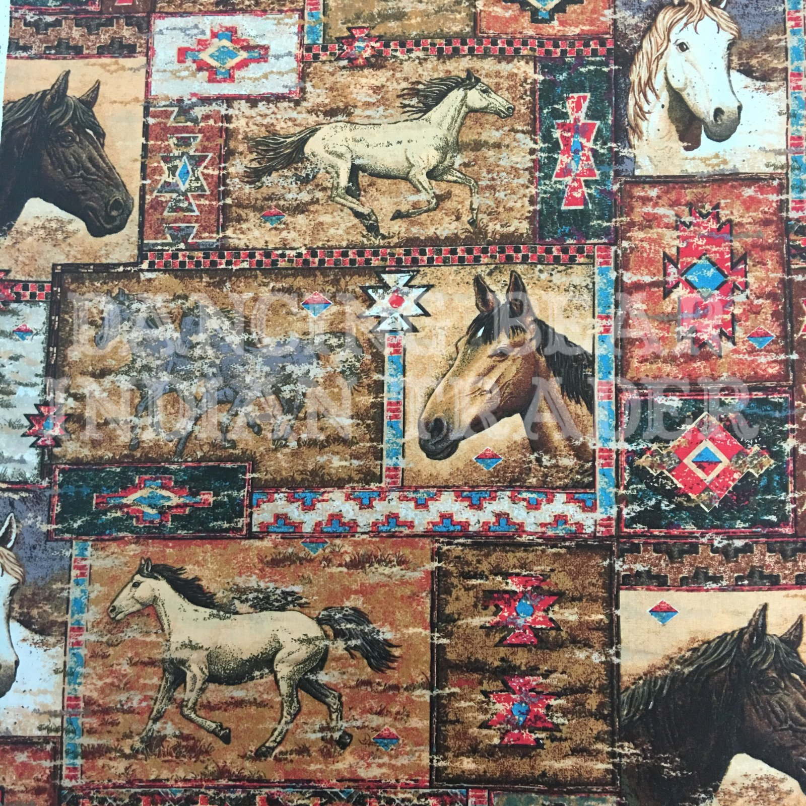 Horse Mosaic