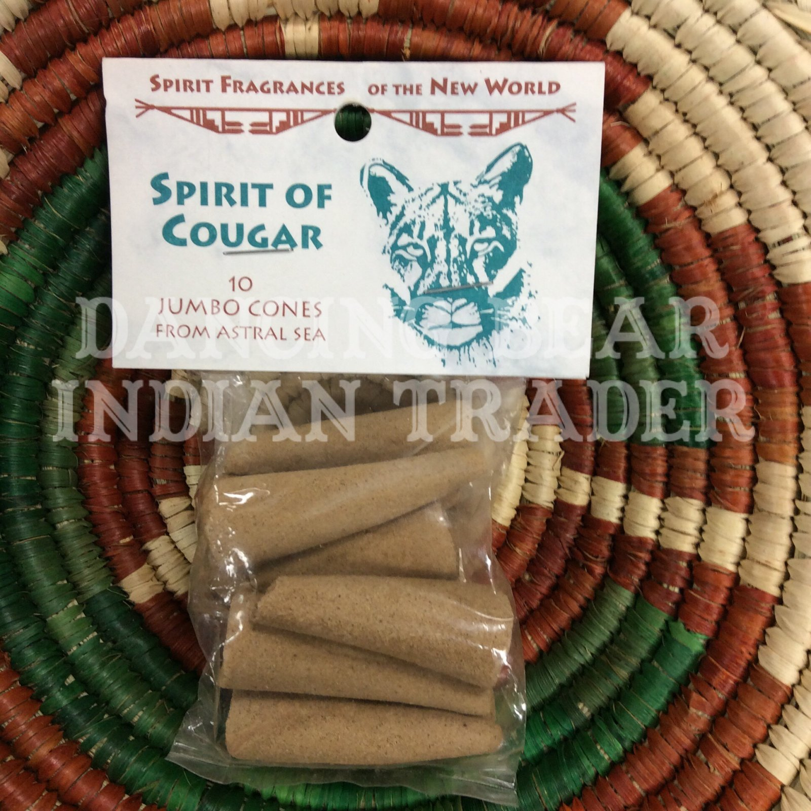 Incense Spirit of Cougar