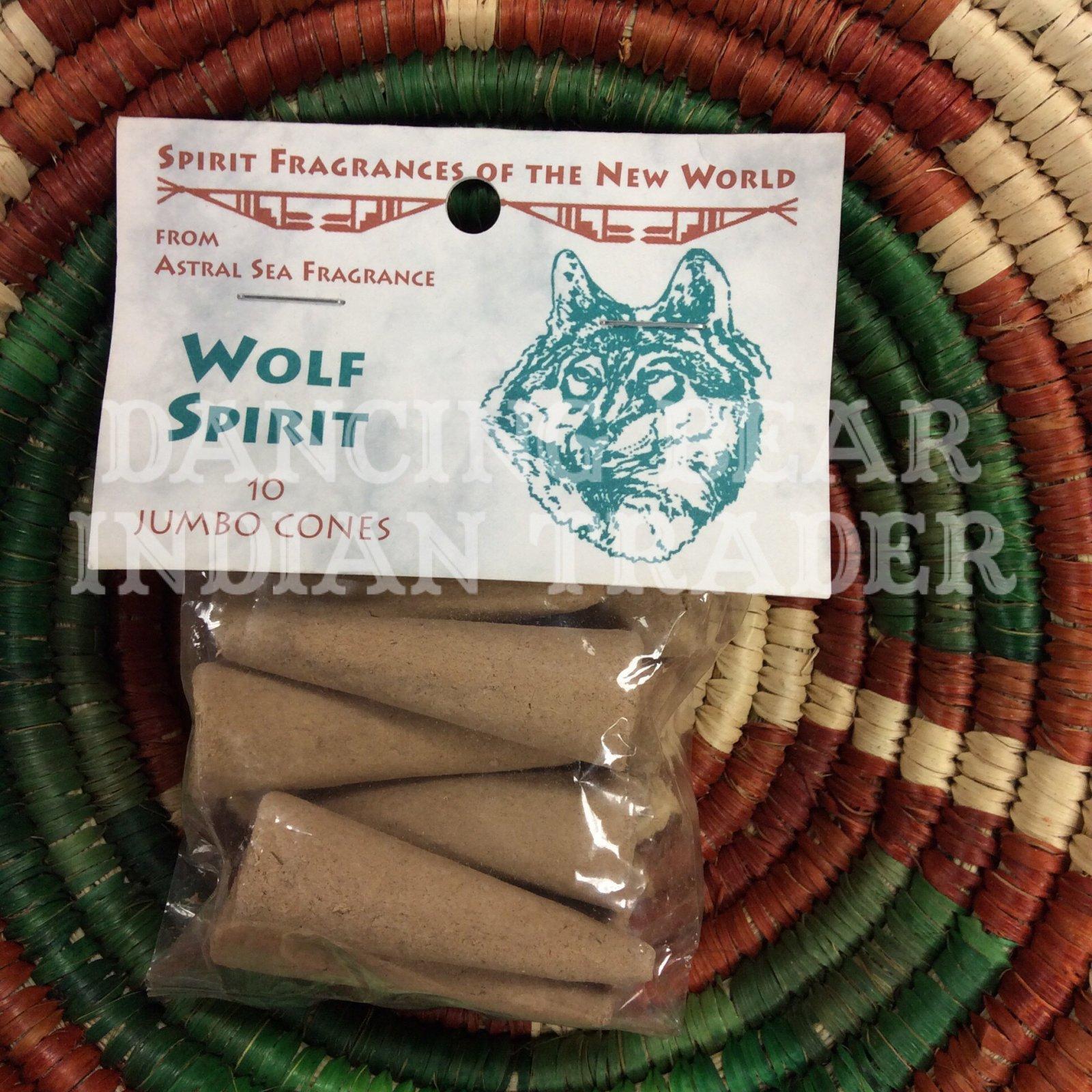 Incense Wolf Spirit