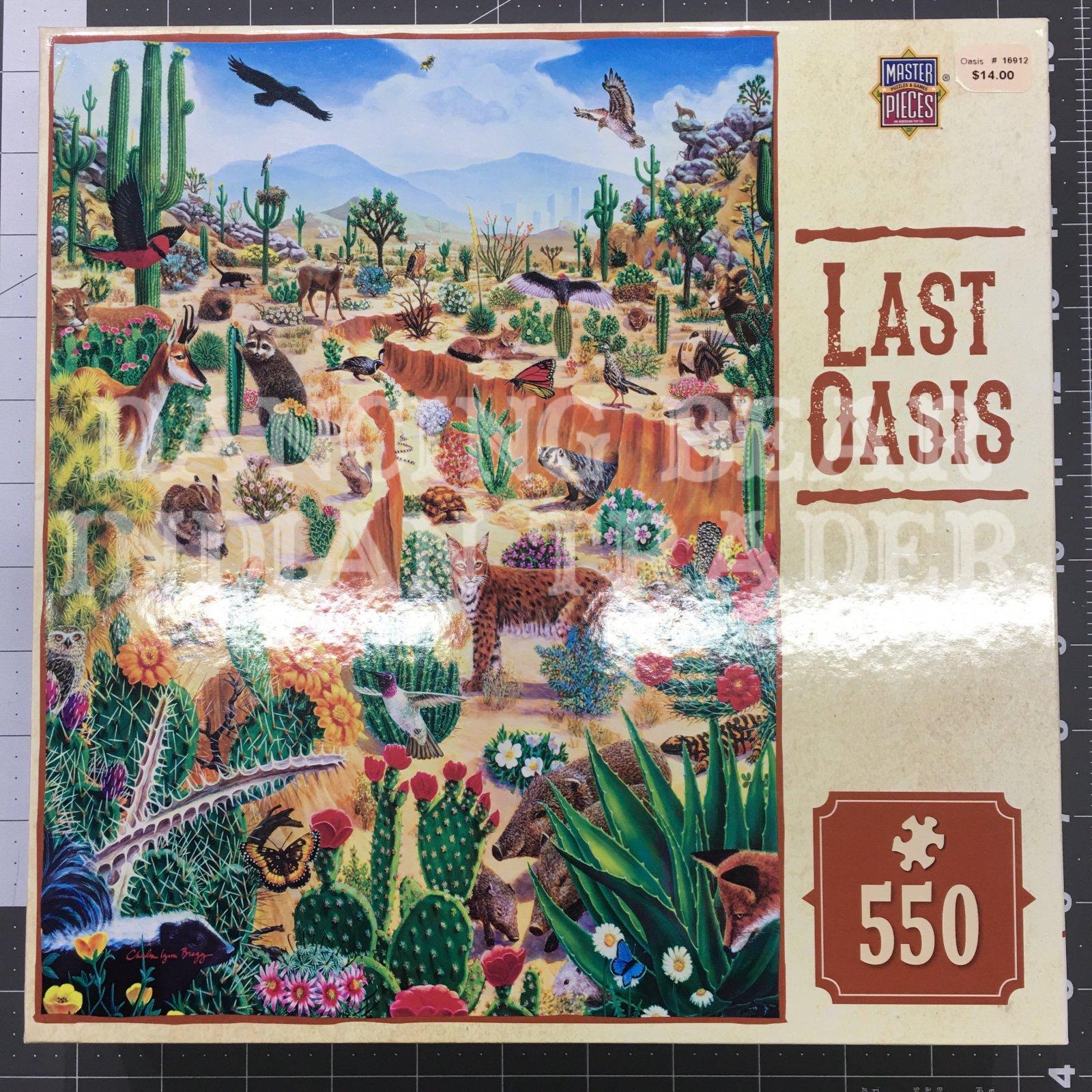 Puzzle Last Oasis 550pc