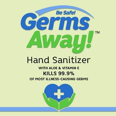 Be Safe Germs Away 8 oz, In stock ready to ship!
