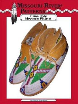 Pattern Plains Moccasins