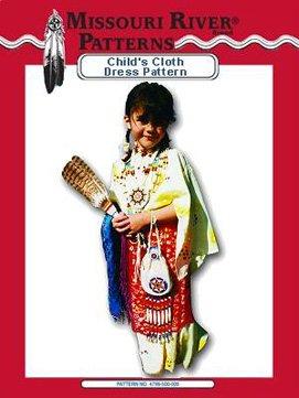 Pattern Child's Cloth Dress