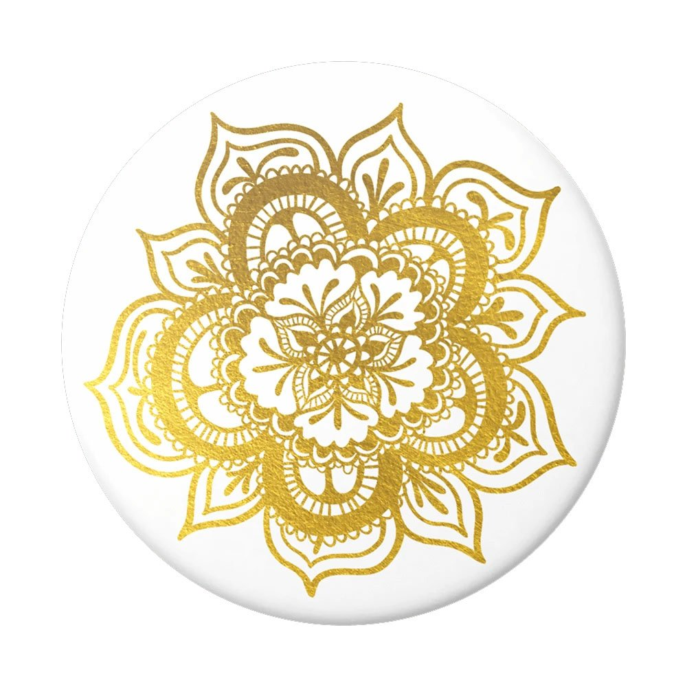 Popsocket White Base, Complete, Swappable-Her Imminence