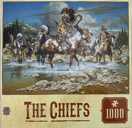 Puzzle The Chiefs 1000pc