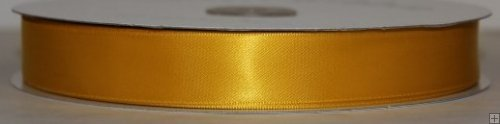 Satin Ribbon 5/8 Gold #005 100 yds