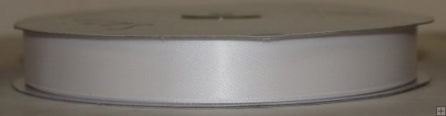 Ribbon 2-026 White Satin 50 yards