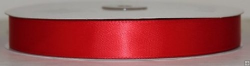 Ribbon 2-081 Red Satin 50 yards
