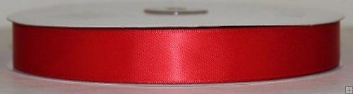 Satin Ribbon 5/8 Red #081 100 yds