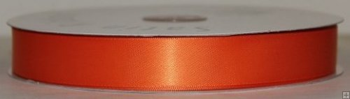 Satin Ribbon 5/8 Orange #116 100 yds