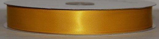 Satin Ribbon 5/8 Goldenrod #121 100 yds