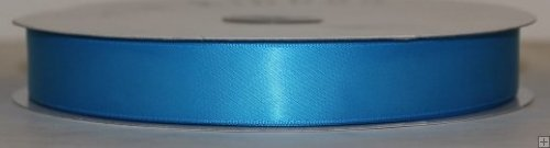 Ribbon 2-240N Neon Blue Satin 50 yards