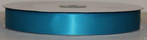 Satin Ribbon 5/8 Turquoise #244 100 yds