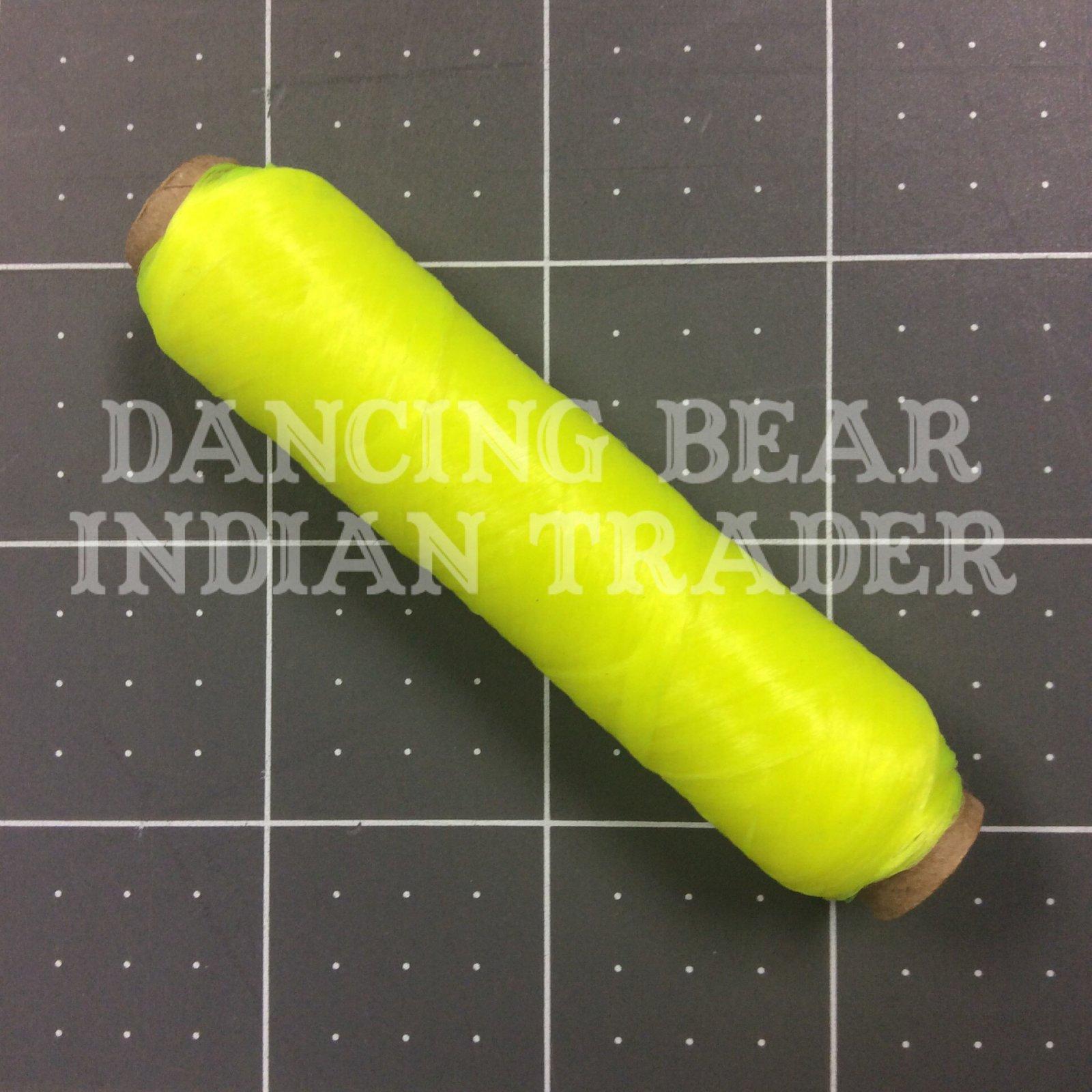US Sinew Bobbin Neon Yellow