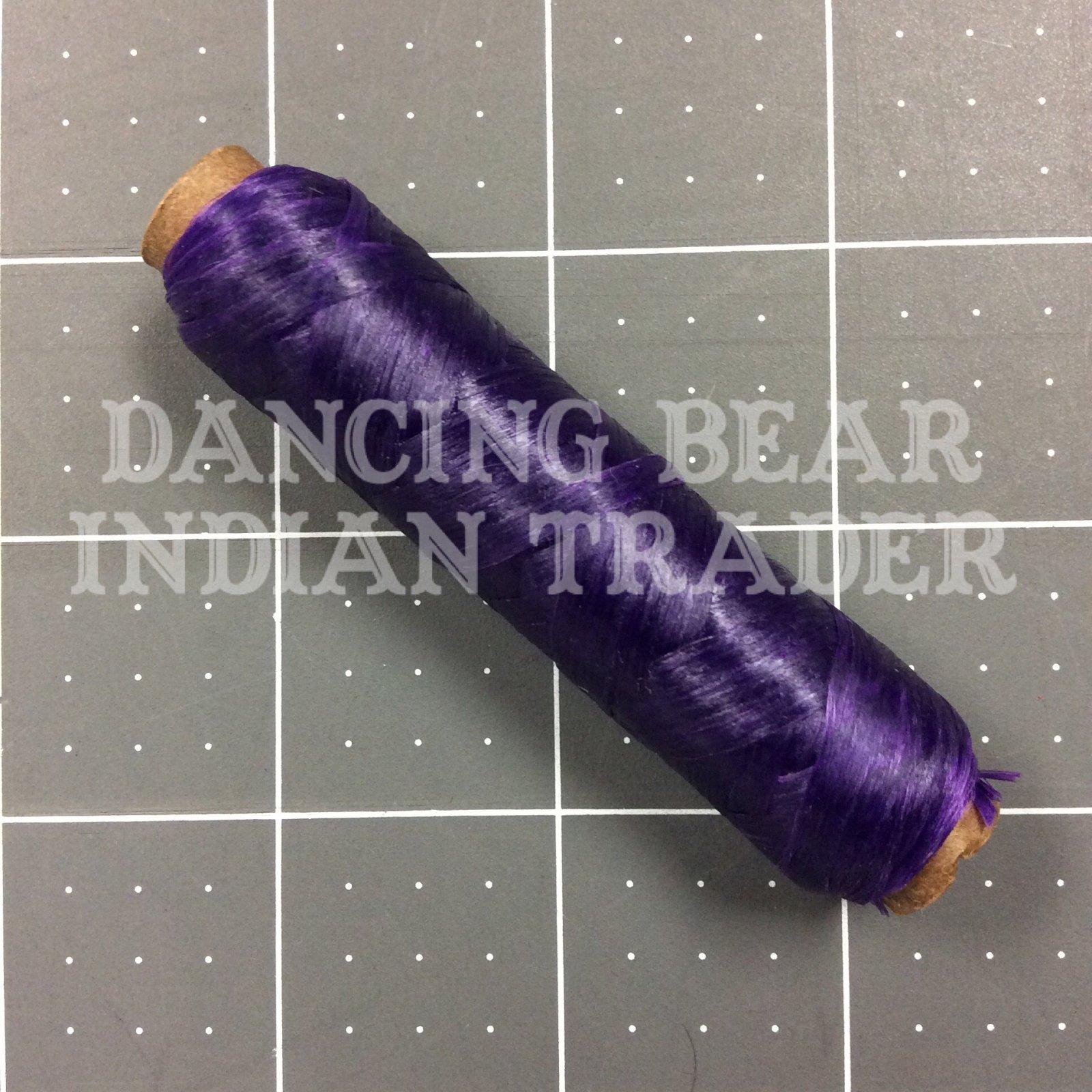 US Sinew Bobbin Purple