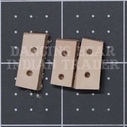 Spacer leather 2H, 10pcs
