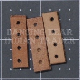 Spacer leather 4H, 10pcs