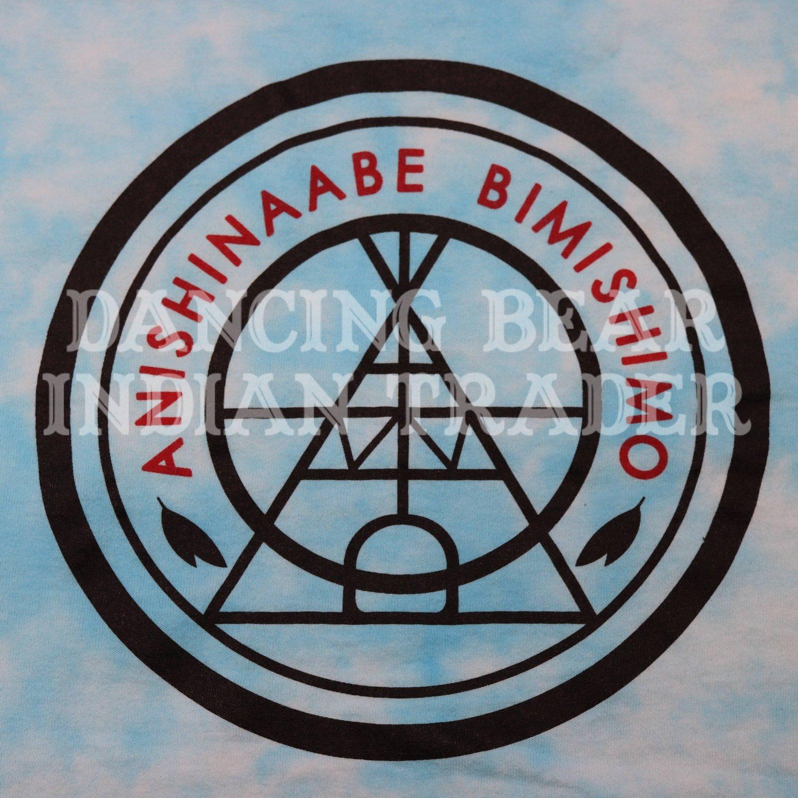 Anishinaabe Bimishimo Tie Dye Shirt