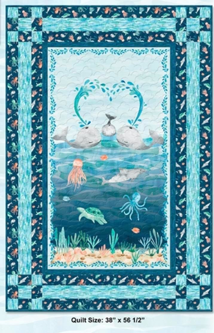Whaley Loved Quilt Kit 38x56 1/2