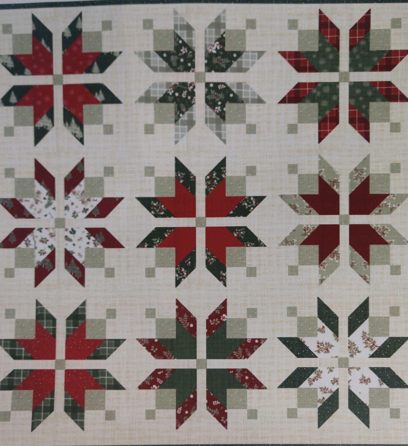 Icebox (Juniper) Quilt Kit